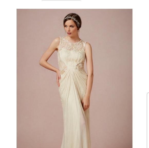 1fb23968158e8 BHLDN Dresses | Nwt Wedding Gown With Designer Garment Bag | Poshmark